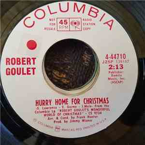 Robert Goulet - Hurry Home For Christmas FLAC download