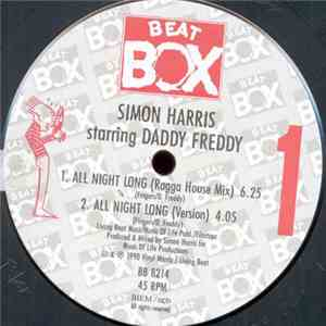 Simon Harris Starring Daddy Freddy - Ragga House (All Night Long) flac download