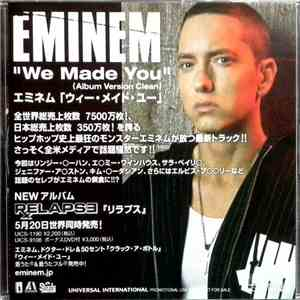 Eminem - We Made You FLAC download