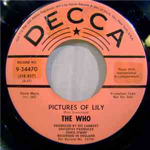 The Who - Pictures Of Lily FLAC download