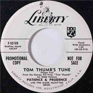 Patience & Prudence - Tom Thumb's Tune / Golly Oh Gee flac download
