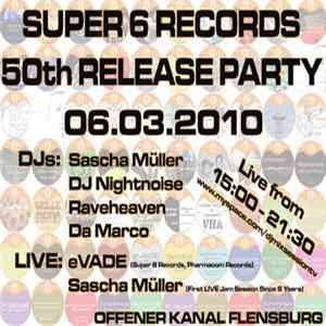 Sascha Müller - Super 6 Records - 50th Release Party FLAC download