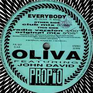 Oliva Featuring John David  - Everybody flac download