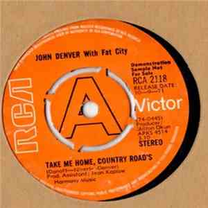 John Denver - Take Me Home, Country Roads flac download